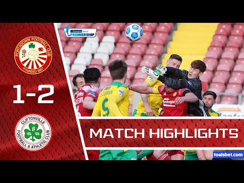 Portadown Cliftonville Goals And Highlights