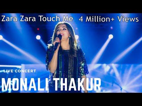 Zara Zara Touch Me || Monali Thakur's Best Live Concert