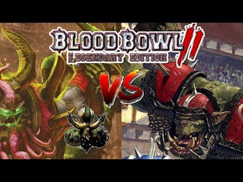 Nurgle (Turin) vs BlackIron Battles | Blood Bowl 2 - Wild Hogs Ranked League Week 10