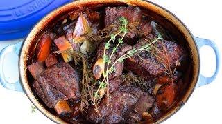 Dinner Recipe: Easy Braised Short Ribs by CookingForBimbos.com