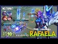 Tank? No Needed! S.A.B.E.R Savior Real Support Mode by 打10个 Top 1 Global Rafaela ~ Mobile Legends