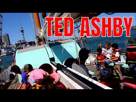 Ted Ashby, Sailing At New Zealand Maritime Museum