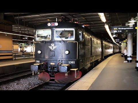 Swedish Trains part 1 - Stockholm Central Station