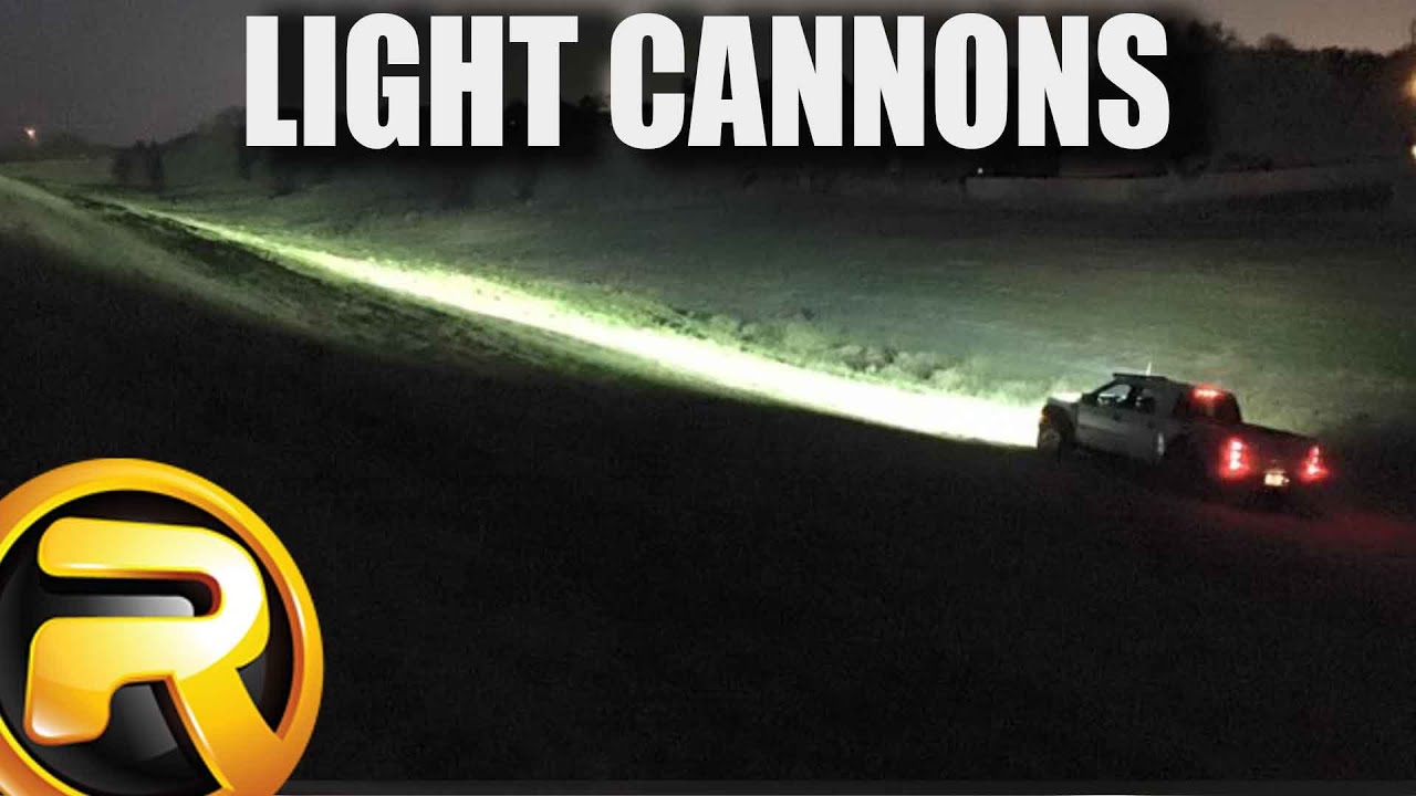 How to Install Vision X Cannon LED Lights  YouTube