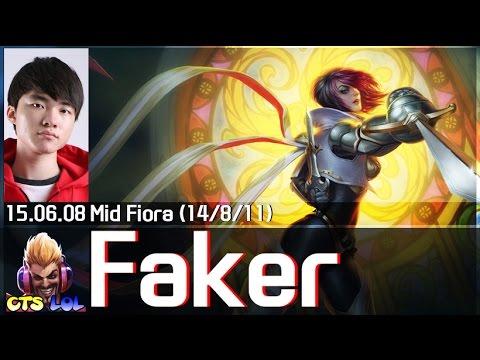 LMHT : Faker cầm Fiora củ hành Varus đường giữa