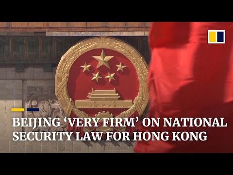 Beijing remains 'very firm' on national security law for Hong Kong, says city's leader Carrie Lam