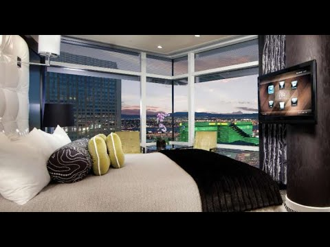 Aria Las Vegas One Bedroom Penthouse Strip View Youtube