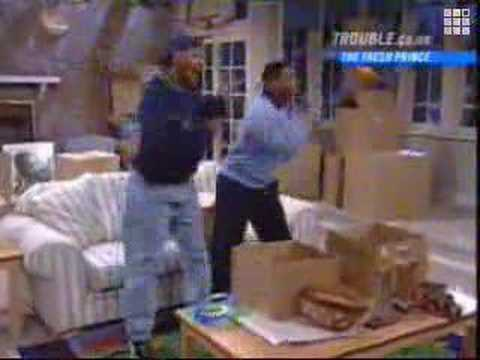 Will Smith and Alfonso Ribeiro Dancing