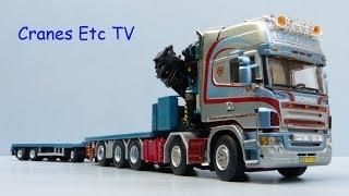 WSI Scania R Flatbed + Palfinger PK150002