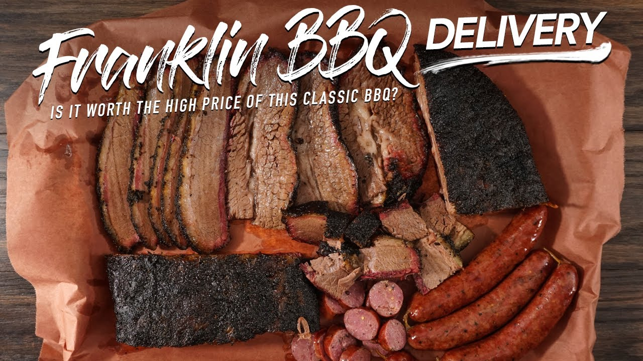 We tried the $300 Franklin BBQ Delivery!