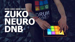 ZUKO - NEURO DNB - DRUM PADS 24 SOUND PACK