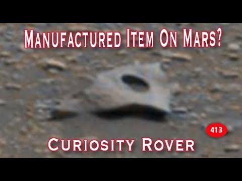 Manufactured Item On Mars?!