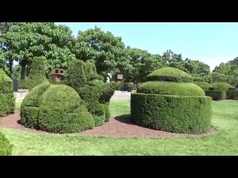 Kennett Square, Pennsylvania - Longwood Gardens - Topiary Garden HD (2015)