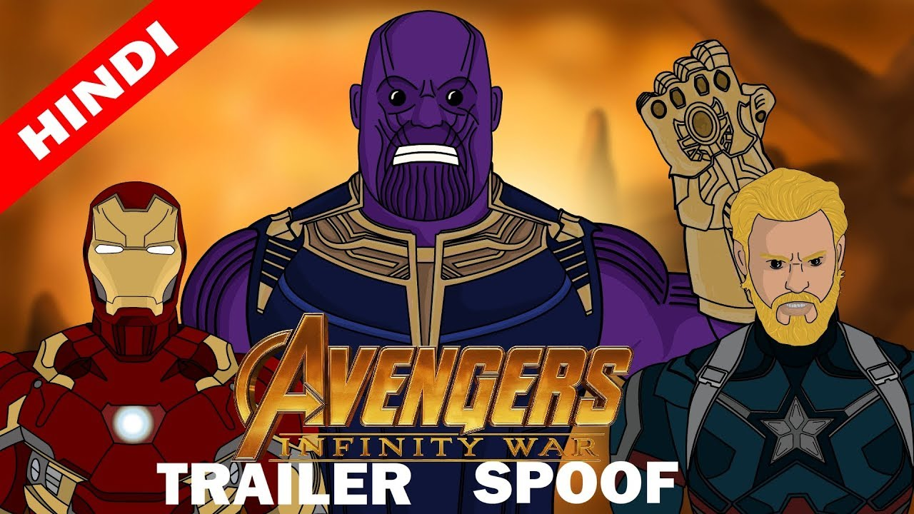 Avengers Infinity War Trailer Spoof In Hindi   Hum Hai Toon