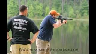 Mississippi Auto Arms - Full Auto AR15 in 300 Blackout with AAC Suppressor