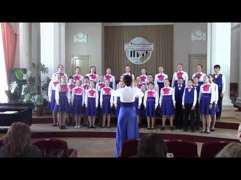 """Хор """"Веснянка"""" Фанипольской ДШИ 2019"""