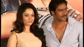 Tamanna And Ajay Devgan Launch The Trailer Of Himmatwala