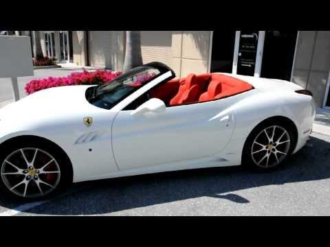 2010 Ferrari California F1 White Walkaround by Driving Emotions