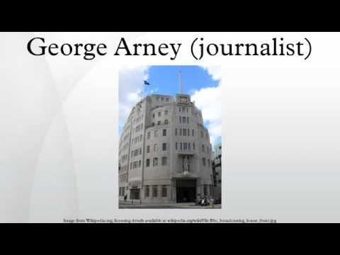 George Arney (journalist)