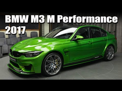2017 BMW M3 M Performance Painted in Java Green