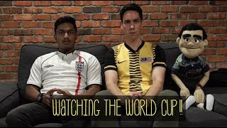 WATCHING ENGLAND VS BELGIUM WITH HARVINTH & ANGMO RYAN