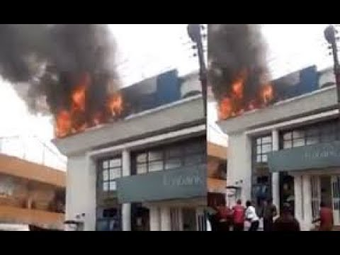 How Mysterious Fire Gut Eco Bank Headquarters In Lagos