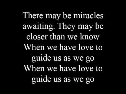 When we have love - lyrics