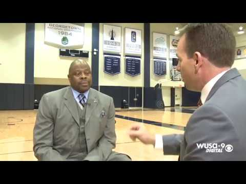 FULL INTERVIEW: Georgetown University basketball coach Patrick Ewing