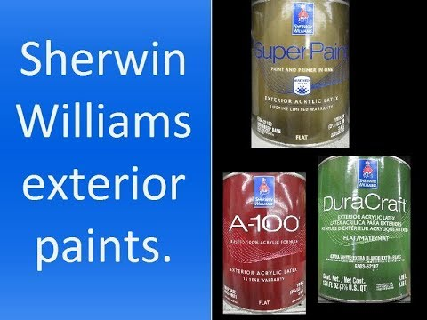 Sherwin Williams Exterior Paint