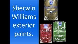 Sherwin Williams exterior paint.