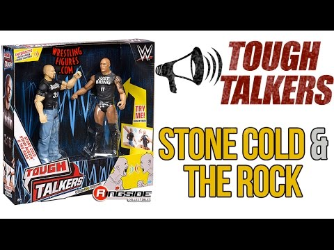 WWE Tough Talkers Championship Takedown Ring Playset SERIES ACTION FIGURE