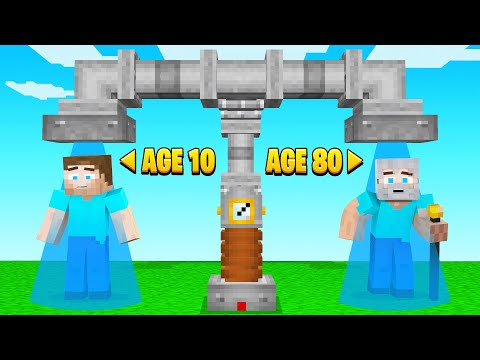 I BECAME AN OLD MAN In Minecraft!
