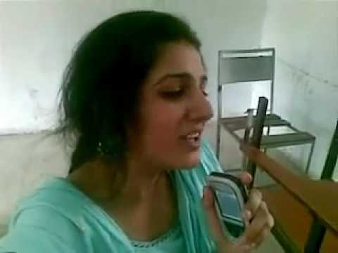 indian college girl singing awesome hidden talent of indian girl