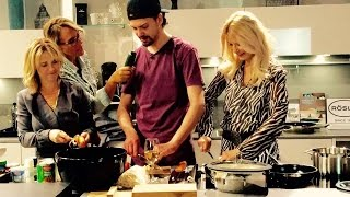Scharfes Kochen mit Jimi Blue Ochsenknecht