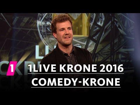 Comedy-Krone: Luke Mockridge | 1LIVE Krone 2016