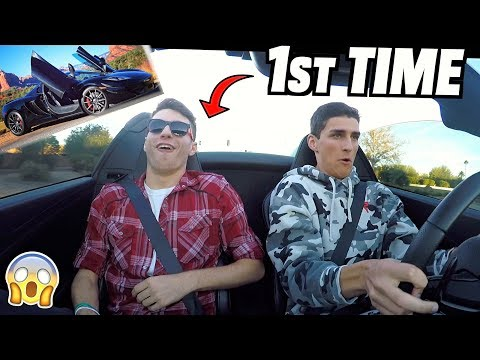 First Drive Reactions With Our CHEAP McLaren After Wreck Rebuild!