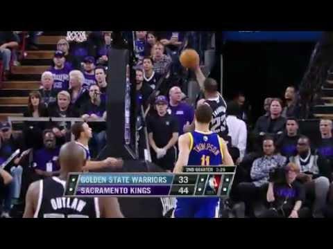 Thornton to Robinson for the SLAM | Warriors Vs Sacramento Kings | 11/05/2012 | NBA Season 2012-13