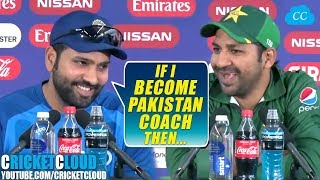 Download Rohit Sharma: If I become Pakistan Coach Then | INDvPAK Post Match Press Conference !! Mp3 and Videos