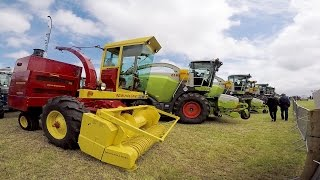 Great Grass Event: 104 self-propelled forage harvesters working together!
