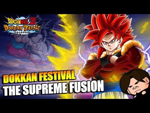 THE SUPREME FUSION! | Dokkan Battle: Dokkan Festival - Multi Summons!