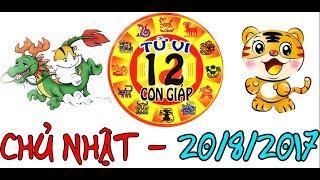 Tử Vi 2017   Tử Vi 12 Con Giáp 2017: Chủ Nhật - 20/8/2017   Xem Tử Vi Hàng Ngày thumbnail