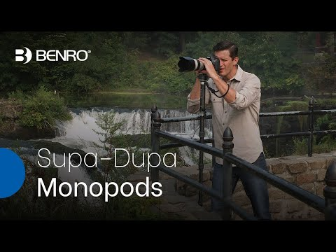 Benro SupaDupa Monopods | Carbon Fiber 6-Section Monopods with Advanced Fast-Action Flip-Lock