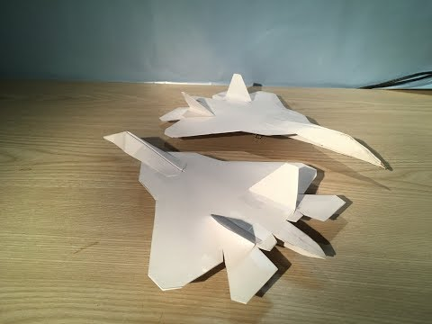 How To Make a Sukhoi PAK FA T-50
