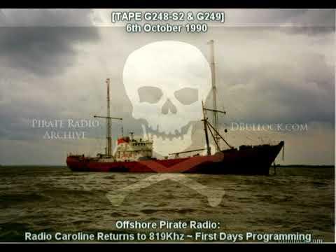 [G248-G249] Radio Caroline 819 ~ 06/10/1990 ~ Offshore Pirate Radio