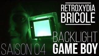 RetrOxydia bricole - BACKLIGHT GAME BOY DMG-01 - FR