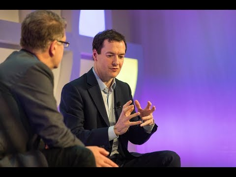 George Osborne - Turning the Tanker: Can economies look beyond GDP? (Highlights)