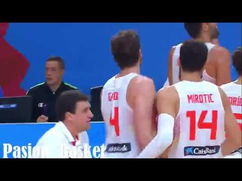 Francia vs España Eurobasket(17-9-2009) from YouTube · Duration:  8 minutes 40 seconds