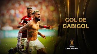 Gol de Gabigol (2) | Flamengo 2-1 River Plate | FINAL Libertadores