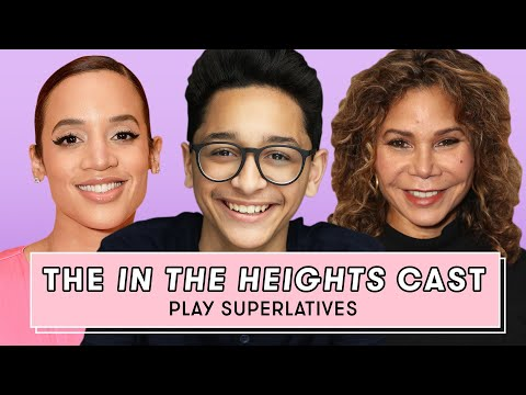 The In The Heights Cast Reveals Who's the Sweetest, Funniest and More | Superlatives | Seventeen