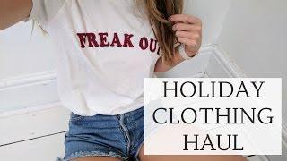 HOLIDAY CLOTHING HAUL | Beach & Summer Wear! | CAT MEFFAN